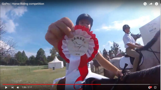 GoPro - Horse Riding competition