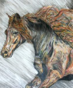 Eric Sher Horse Paintings